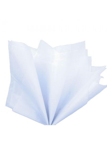 Папиросная бумага тишью,белая,цена за 10 листов