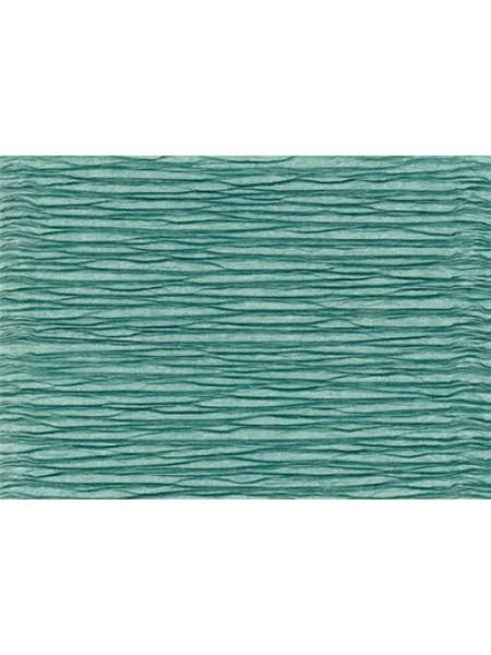 Бумага гофрированная-CARTOTECNICA ROSSI, цв аквамарин №17Е-4