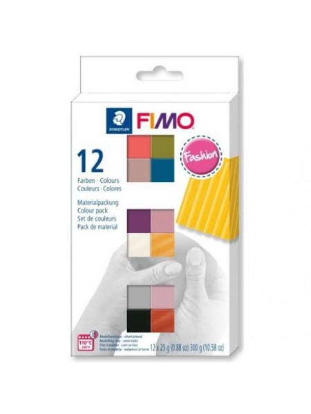 Набор полимерной глины FIMO SOFT  FASHION 12*25гр