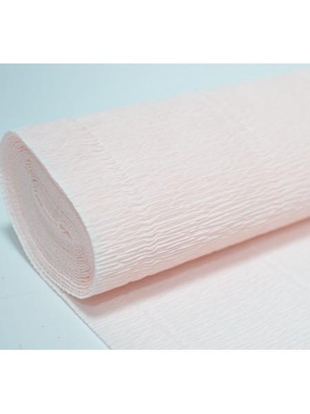 Бумага гофрированная-CARTOTECNICA ROSSI,  №616,светло-розовый