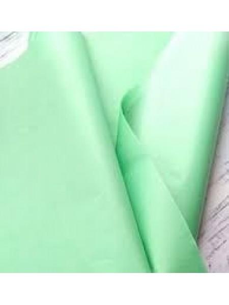 Папиросная бумага тишью,бледно-зелёная,цена за 10 листов