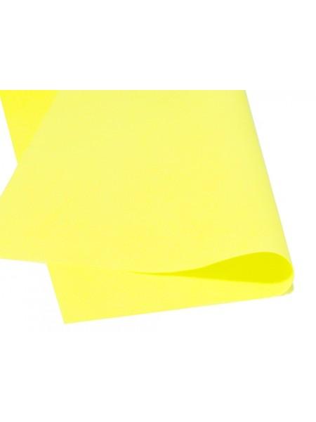 Зефирный фоамиран.жёлтый, 25*25 см