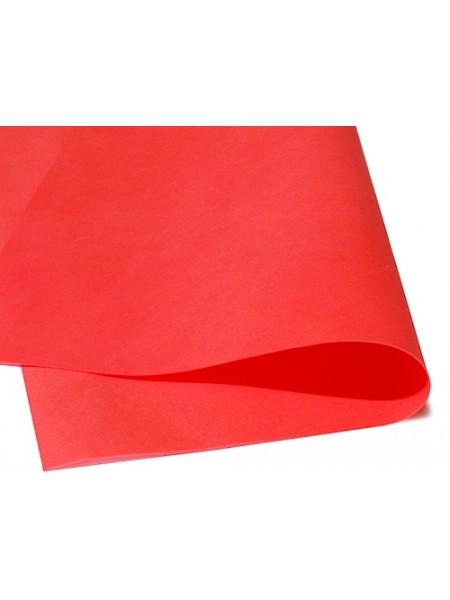 Зефирный фоамиран.красный, 25*25 см
