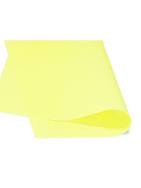 Зефирный фоамиран.лимонный, 25*25 см