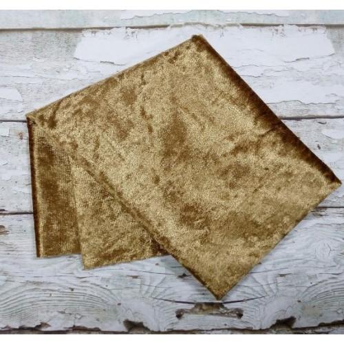 Плюш- винтаж,47*47см , цвет коричневый,цена за отрез