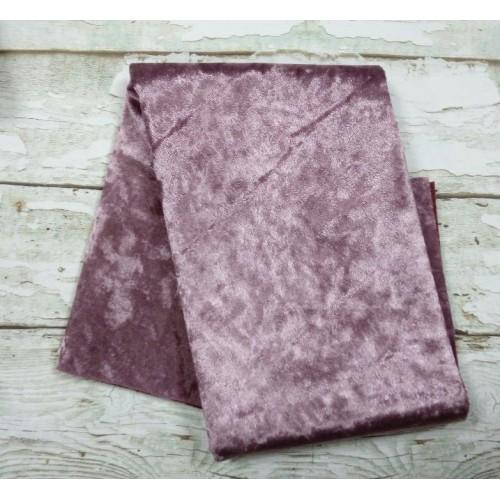 Плюш- винтаж,47*47см , цвет темно-розовый,цена за отрез