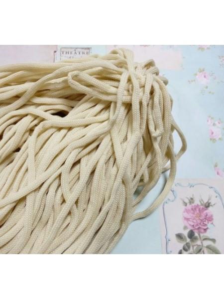 Полиэфирный шнур для вязания,4мм,цв-св-бежевый,100м