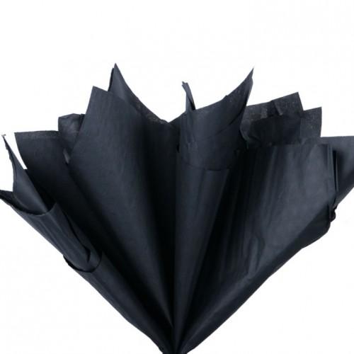 Папиросная бумага тишью,чёрная,цена за 10 листов
