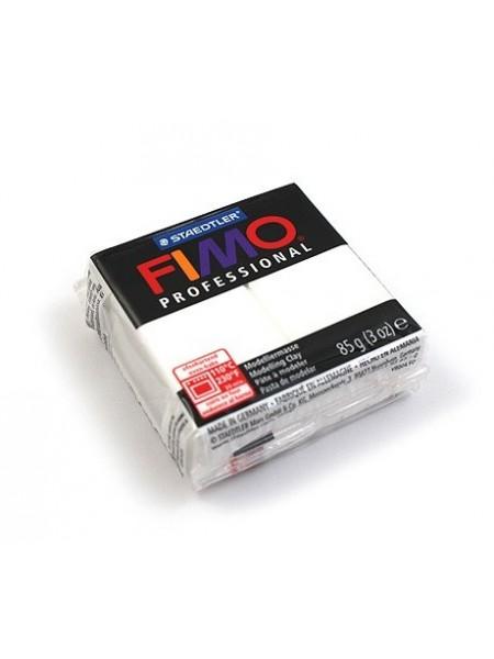 Полимерная глина FIMO Professional, цвет белый,85гр