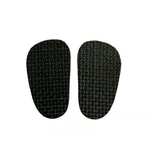 Подошва для изготовления обуви  4*7см, цена за пару,цв-черный
