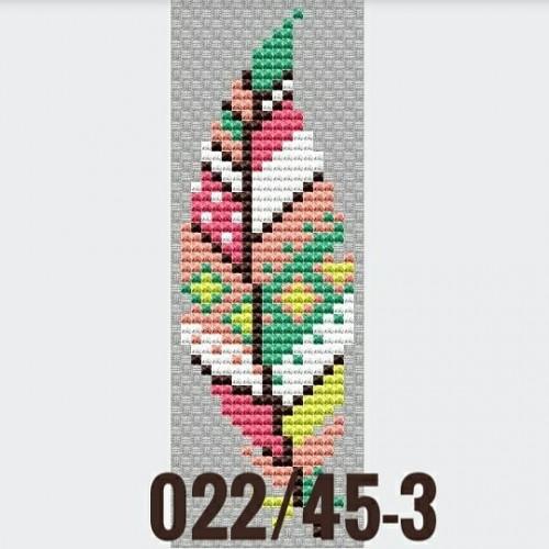 """Основа для вышивания по дереву """"Пёрышко-3"""",Размер 12,5*5см"""
