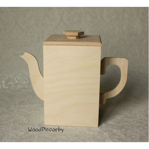 Заготовка - Короб-чайник