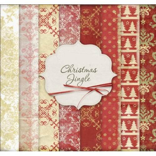 Набор новогодней бумаги 29,5*30 см. 16 листов,ВКН-9Б